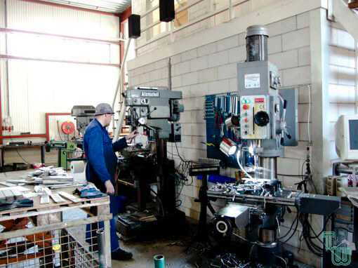 projecten metaal productie